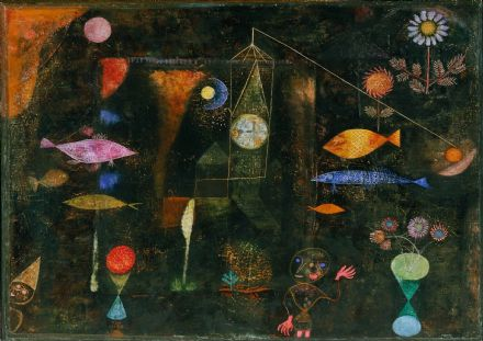 Klee, Paul: Fish Magic. Fine Art Print/Poster. Sizes: A4/A3/A2/A1 (003920)